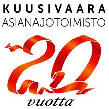 Asianajotoimisto Kuusivaara täyttää 20 vuotta 18.2.2018